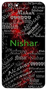Nishar (Warm Cloth) Name & Sign Printed All over customize & Personalized!! Protective back cover for your Smart Phone : Vivo Xshot