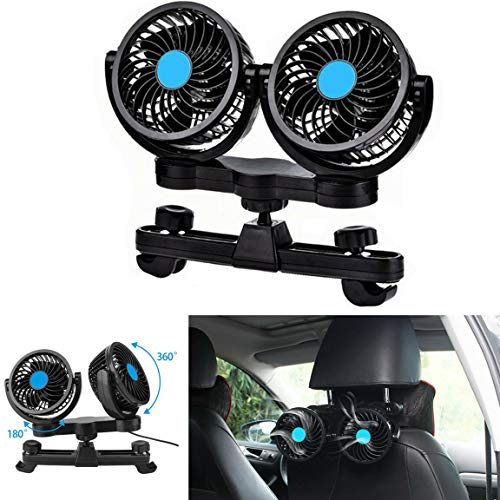 SUPAREE Electric Car Fan 12 V Speed ändern Sommer Kühlung Air Circulator - Kinder-rücken-rv