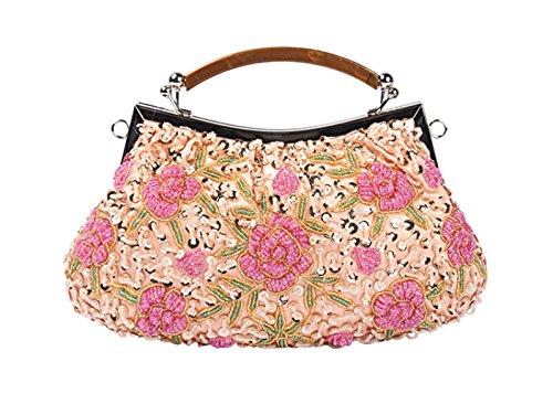 LAIDAYE Dinner Tasche Retro Handtasche Handtasche Messenger Bag Handtaschen 5