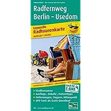 Radfernweg Berlin - Usedom: Leporello Radtourenkarte mit Ausflugszielen, Einkehr- & Freizeittipps, wetterfest, reissfest, abwischbar, GPS-genau. 1:50000 (Leporello Radtourenkarte / LEP-RK)