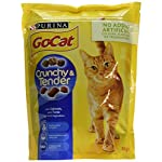 Go-Cat Crunchy and Tender Dry Cat Food Salmon 800g - Case of 4 (3.2kg) 8