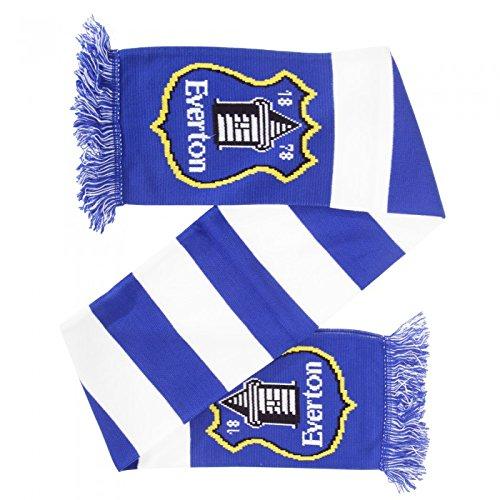 Everton FC – Bufanda oficial de punto Modelo Barras