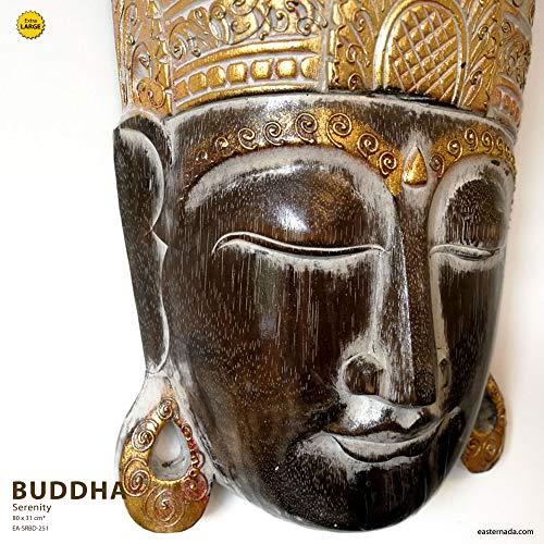 Easternada Escultura de Madera Exclusiva