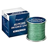 Magreel Braided Fishing Line 20LB 300M 327yds 0.20MM 4 Strands