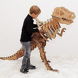 XXXL Tyrannosaurus Rex 3d diseño Buzón de máxima de Arts–3d dinosaurios Puzzle/Modelo