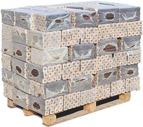 960 kg mumba® Pinikays Eichenbriketts Holzbriketts sauber auf Palette geliefert