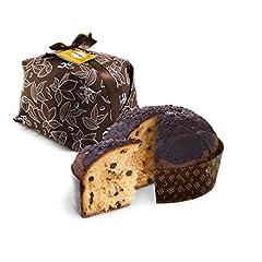 Idea Regalo - 500gr panettone artigianale con gocce di cioccolato siciliano - Duci duci - pasticceria artigianale, panettone con gocce di cioccolato siciliano artigianale 500gr - prodotto artigianale siciliano
