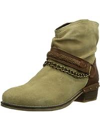 Dockers 354040-141039 - botas de caño bajo de cuero mujer