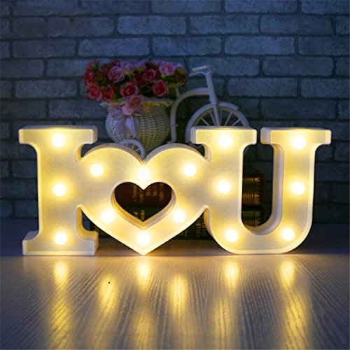 Love light sign creativo 3d i love u heart love led night light marquee sign decorazione luce per san valentino