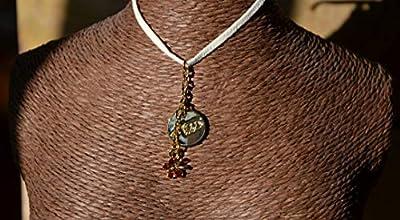 Pendentif papillon doré or fin cristal
