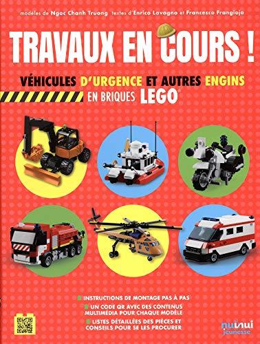 Travaux en cours ! : Véhicules de secours et autres engins en briques lego
