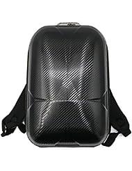 Carcasa rígida de resistente al agua mochila bolsa caso lommer adhesivo Cargador de batería bolsa de almacenamiento para DJI Mavic Pro Accesorios, Carbon fiber lines