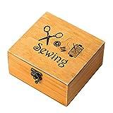 rosenice Nähkästchen aus Holz Lieferungen-Zubehör für Nähmaschine Reparatursatz für Säge Feld von Arbeit für die Reparatur