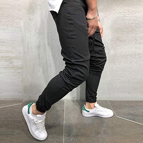 Uomo Casual Sportwear Pantaloni Larghi da Jogger Lunghi alla Caviglia Pantaloni della Tuta Pantaloni Sportiva Uomo, Sportivi Tether Marea per Il Tempo