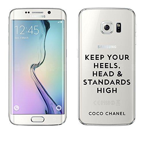 Samsung Galaxy S6 Edge Hülle von licaso® aus TPU schützt Dein S6 Edge 5,1