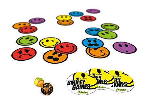 comprare on line Creativamente 501 - Gioco in Scatola, Smiley Games - 5 Fun Games To Play 4Ever, 5 Divertentissimi Giochi prezzo