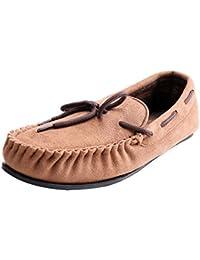 WILLIAM&KATE Zapatos de Los Hombres Cómodos (42, Marrón)