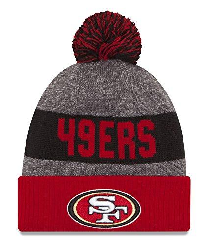 NFL San Francisco 49ers - Bonnet Pompon de Touche San Francisco 49ers