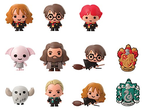 HARRY POTTER 48085 Blind Bag della Serie 2, Portachiavi, Multicolore, 7,6 cm