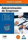 PAQUETE AHORRO ADMINISTRACIÓN DE EMPRESAS CUERPO DE PROFESORES DE ENSEÑANZA SECUNDARIA