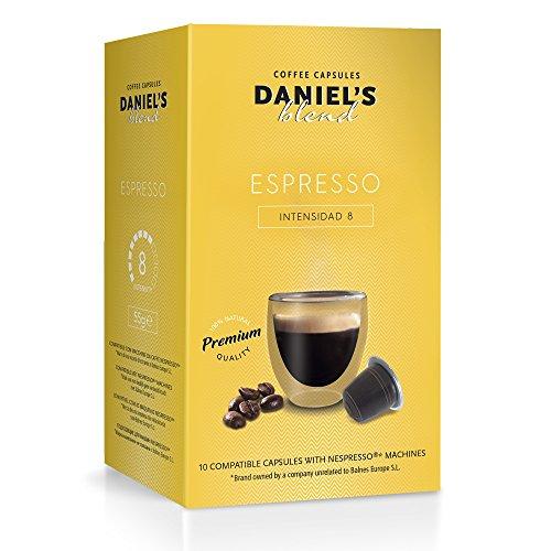 DANIELS BLEND - 100 Capsule Caffè Compatibili con Macchina Nespresso - ESPRESSO