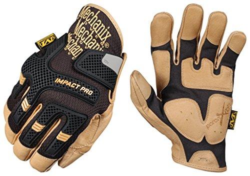 Mechanix Wear CG Impact Pro Handschuhe Schwarz/Braun size L