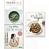 vegan in 7,go lean vegan and feed me vegan 3 books collection set - delicious plant-based recipes in 7 ingredients or fewer,the revolutionary 30-day diet plan to lose weight and feel great