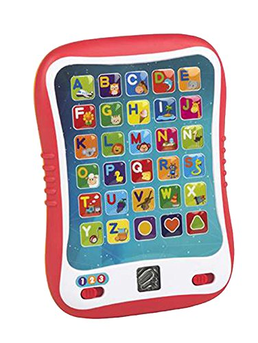 WinFun Tablet educativa con luz y Sonidos Color Baby, (Colorbaby 44256)