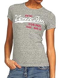 60d433fc9fd7cb Flying Rabbit Damen Langarmshirt Damen Kurzarm Shirt Damen Langarm T-Shirt  Rundhals Falten T-Shirt Casual ...
