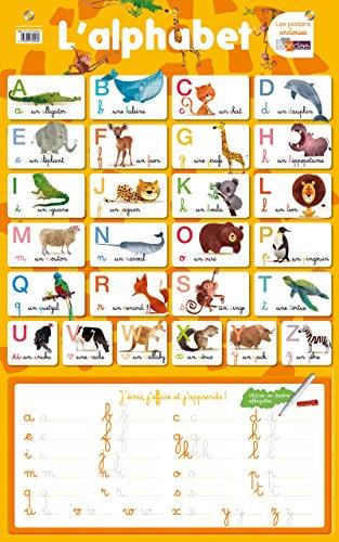 Poster-ardoise - L'alphabet par Collectif