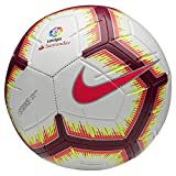 Nike LL NK Strk-Fa18 Ballon de Football Mixte Adulte, Blanc/Pink Flash Red/Team, FR : L (Taille Fabricant : 5)