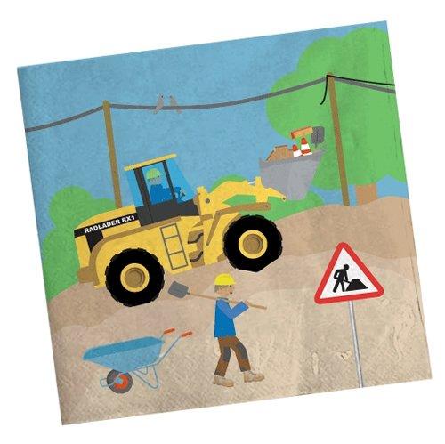 tiv: Baustelle und Radlader für Kinder Mottoparty // Bauarbeiter Bagger Baumeister Kindergeburtstag Geburtstag Party Jungs Bau Bob (Bau-geburtstag)