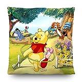 AG Design Disney Winnie The Pooh, Cuscino decorativo, 40x 40cm, Double Sided, Poliestere, colorato, 45x 45cm