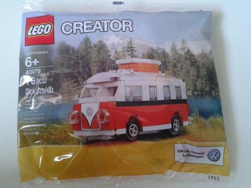 LEGO-Creator-Exclusive-Mini-VW-T1-Camper-Van-40079-Bagged