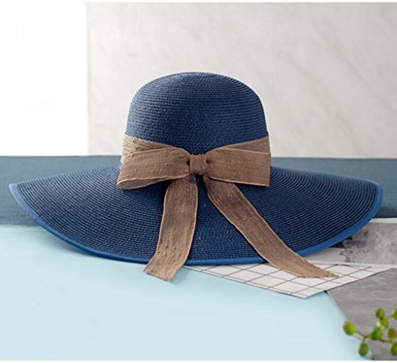 Cappello da Spiaggia e Cappello da Sole con Cappello a Tesa Larga e Spiaggia  Cappello da Sole (Coloreee B 48b50c79eb97