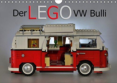 Der LEGO VW Bulli (Wandkalender 2017 DIN A4 quer): Ein Kunstwerk aus bunten Steinen (Monatskalender, 14 Seiten) (CALVENDO Mobilitaet)