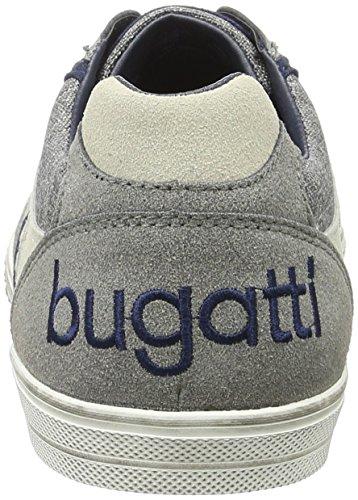 Bugatti K48016v6, Scarpe da Ginnastica Basse Uomo Grigio (D´Grau 145)