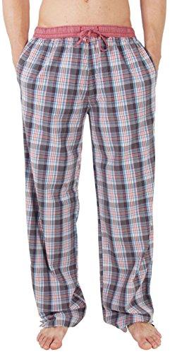 Pyjama-Hose von LUCA DAVID Olden Glory mit bequemem, weitem Schnitt und cooler Vintage-Optik aus 100% super weicher Baumwolle 1301-16202