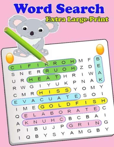 Extra Large-Print Word Search: Extra Large-Print Word Search Easy, Medium, Hard word search Puzzle Book bargain bonanza for word search lovers por Hanna Laura