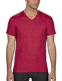 Anvil 6752 - T-shirt - Uni - Col V - Manches courtes - Homme
