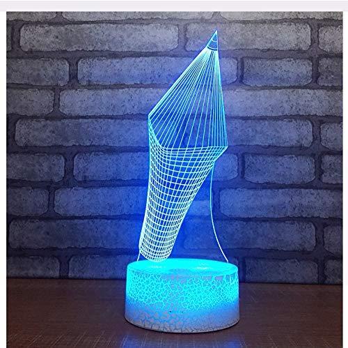 Farbe Led Atmosphäre Schlafzimmer 3D Schreibtischlampe Hersteller Tischlampen Für Wohnzimmer Weihnachtsschmuck Geschenk Licht Box