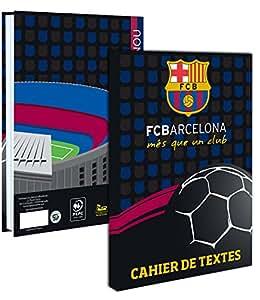 Cahier de texte Barça 2016/17 - Collection officielle FC BARCELONE - Rentrée scolaire - Football FC Barcelona