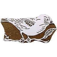 Holzdruckstock Scrapbook Stempel Vogel Handcarved Grenze Stempel