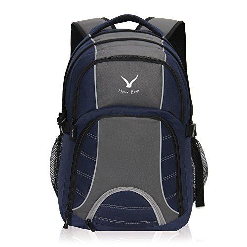 Imagen de veevan bolsas de viaje de negocios laptop colegio  hasta 17 pulgadas  turqui+gris  alternativa