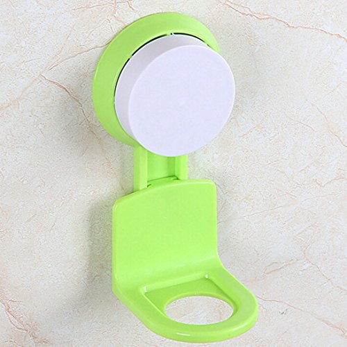 igemy-strong-suction-cup-shower-gel-shampoo-bathroom-wall-mounted-rack-hooks-green