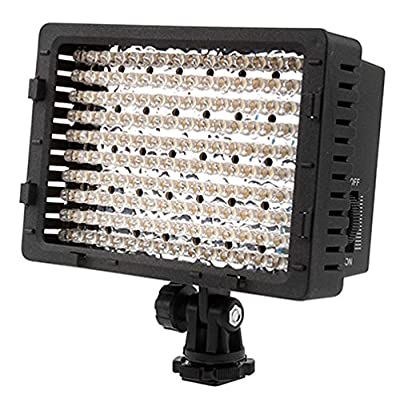 CN 160 LED CN-160 Dimmable Ultra High Power Panel Digital Camera / Camcorder Video Light, LED Light for Canon, Nikon, Pentax, Panasonic,SONY, Samsung and Olympus Digital SLR Cameras produced by NEEWER® - quick delivery from UK.