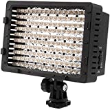 NEEWER ® CN-160 - Panel de luz LED regulable de 160 piezas para cámara de vídeo y digital SLR  Canon Nikon, Pentax, Panasonic, Sony, Samsung y Olympus