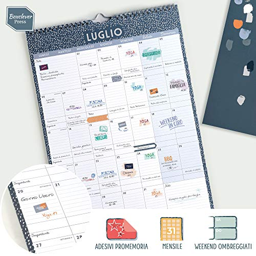 Calendario Semine 2020.Catalogo Prodotti Boxclever Press 2019