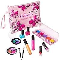 Playkidz Primer Princesa Lavado Bar Real de Maquillaje de Juego, con Diseñador Floral Estuche para Dama (3032)
