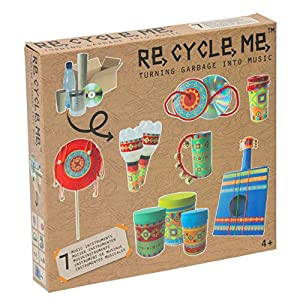 Re Cycle Me defg1320-Manualidades Diversión-Juego de Manualidades Tus propias Instrumentos para 7Modelos